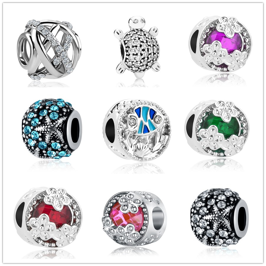 Punctual Couqcy Sparkling Murano Glass Beads Butterfly Charms Fit Original Pandora Bracelet Diy Jewelry Making Women Gifts Beads & Jewelry Making Jewelry & Accessories