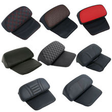 Motorcycle Razor Chopped Tour-Pak Backrest Pad For Harley Touring Electra Street Tri Glide Road King Ultra Limited 14-18