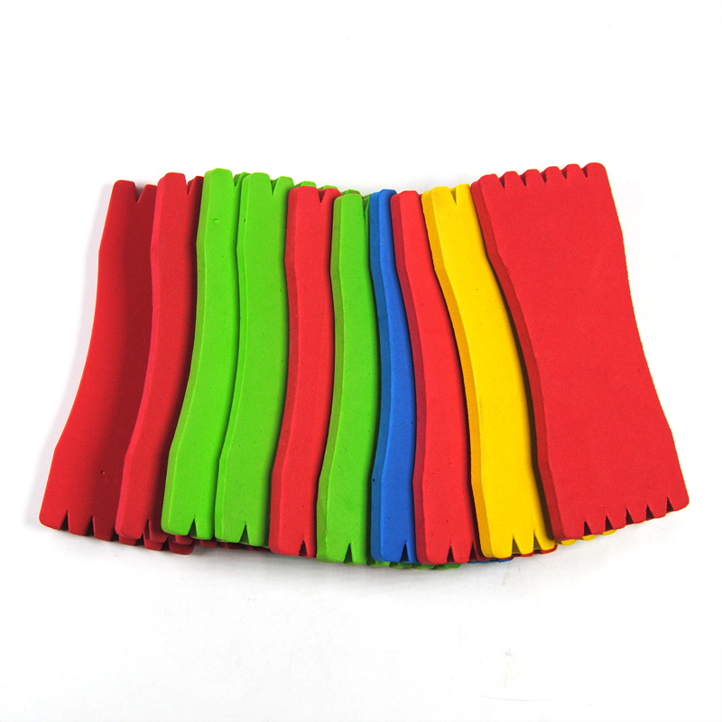 10PCS Colored Flasher Rig Foam Holder Fish Rig Store EVA 12cm Length