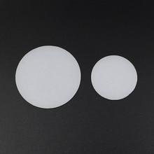 2 個 35 ミリメートル 50 ミリメートル 60 ミリメートル 65 ミリメートル 70 ミリメートル 75 ミリメートル 92 ミリメートル 110 ミリメートル懐中電灯ディフューザーレンズ led 懐中電灯トーチ diy フィルター pc レンズ白色