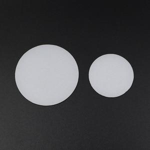 Image 1 - 2 חתיכות 35mm 50mm 60mm 65mm 70mm 75mm 92mm 110mm פנס מפזר עדשת LED פנס לפיד DIY מסנן עדשת PC לבן צבע