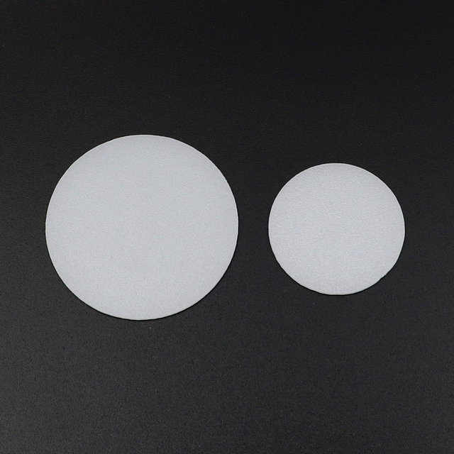 2 adet 35mm 50mm 60mm 65mm 70mm 75mm 92mm 110mm el feneri difüzör lens LED el feneri meşale DIY filtresi PC Lens beyaz renk