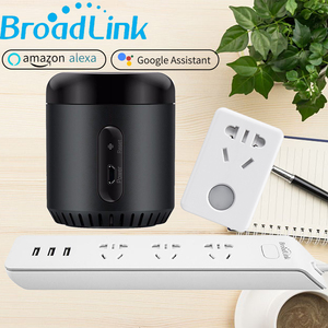 Image 1 - Broadlink Original RM Mini3 for Alexa Google Home Smart WiFi IR Control Power Strip Wifi Socket SP mini3 CN AU Plug
