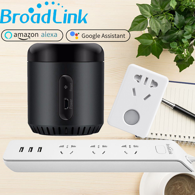 Broadlink Original RM Mini3 for Alexa Google Home Smart WiFi IR Control Power Strip Wifi Socket SP mini3 CN AU Plug