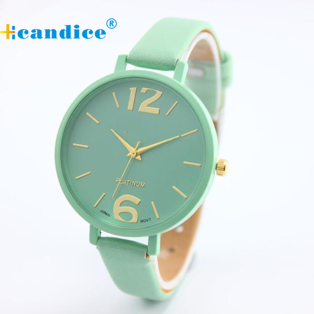 2017 New Fashion Brand watches women luxury watch Geneva Women Faux Leather Analog Quartz Wrist Watch relojes mujer dropshipping mance new fashion brand women s watches luxury geneva faux leather analog quartz wrist watch relogio feminino quality gift