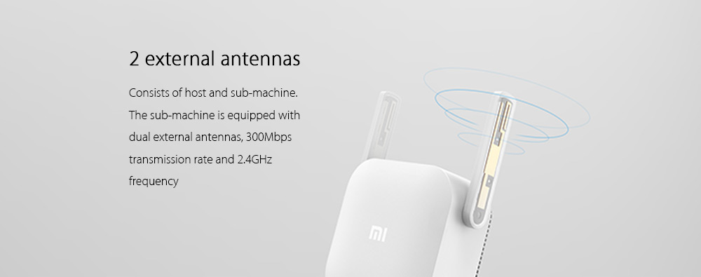 Original Xiaomi Wifi Repeater or 2.4G Wireless Range Extender Router  Electric Power with Access Point 300MPS and Signal Amplifier 14