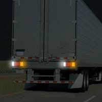 Car Rear Lamps Truck Boat Trailer Plastic Taillight 44 LED 12V Waterproof Car Truck Tail Light