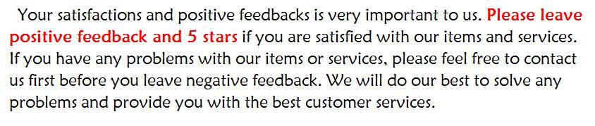 feedback5 stars