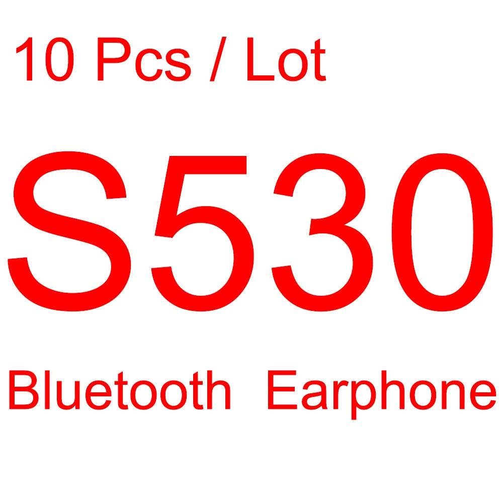 bilder für 10 stücke Mini S530 Drahtlose Bluetooth Kopfhörer Stealth Kopfhörer in-ohr Earbud Headset Handfree anruf mit Mic Universelle für telefon