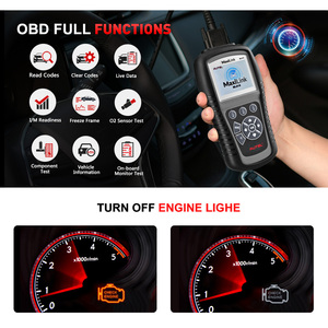 Image 2 - Autel MaxiLink ML619 ABS SRS Diagnostics Scanner OBD2 Code Reader Diagnostic Scan Tool OBD Autoscanner Auto Airbag Diagnosis