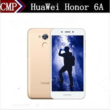 """Оригинальный HuaWei Honor 6A 4G LTE мобильный телефон Snadpragon 430 Android 7,0 1280 """"ips 5,0X720 3 ГБ оперативная память 32 ГБ Встроенная отпечатков пальцев 13.0MP"""