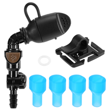 Hidratación vejiga cebo válvula de reemplazo Paquete de hidratación válvula de succión boquilla vejiga pinza de tubo hidratación vejiga accesorio