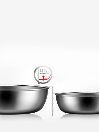 [TB06] poêle antiadhésive poêle 304 acier inoxydable ménage oeuf frit steak non couché cuisinière cuisinière à gaz
