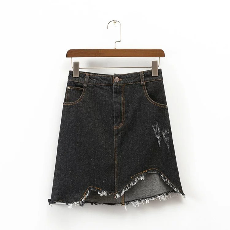 Compare Prices on Black Denim Skirts- Online Shopping/Buy Low ...
