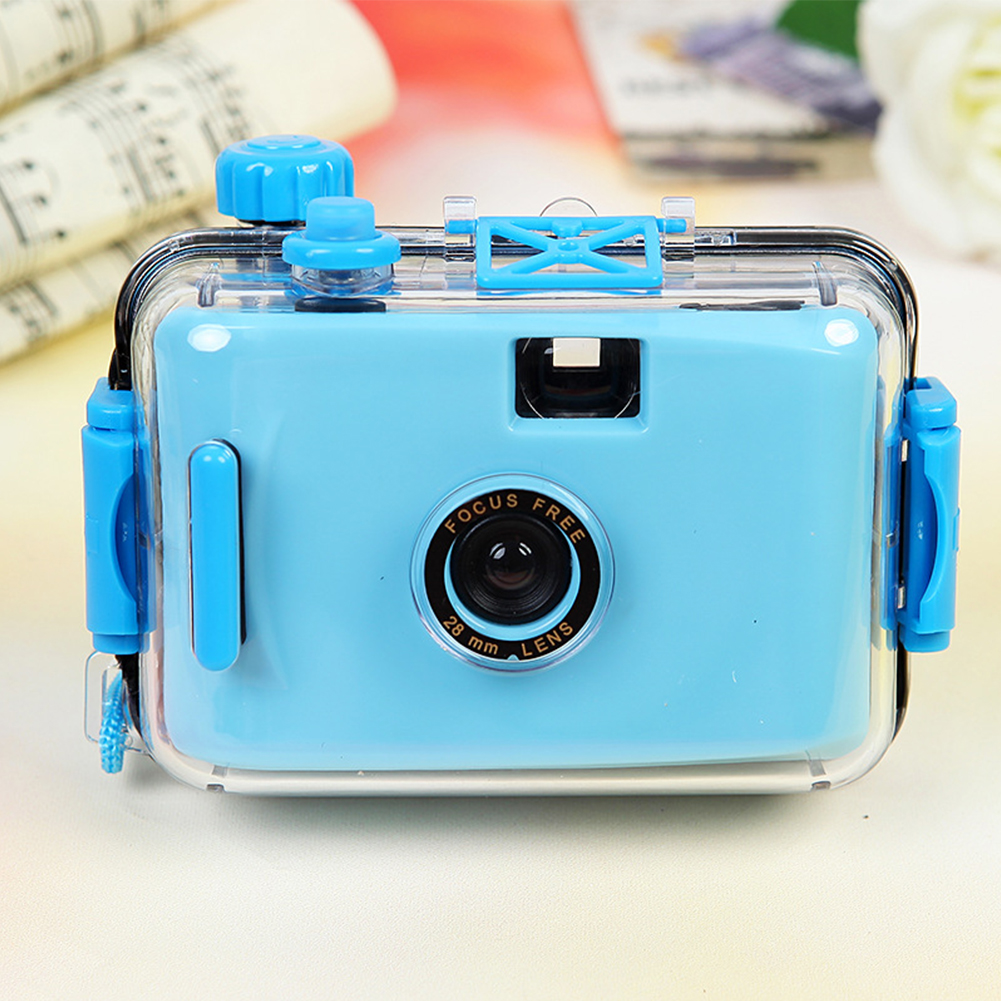 Photography Mini Waterproof Diving Durable With Housing Case Underwater Cute Film Birthday Gift For Snorkeling Fashion Camera