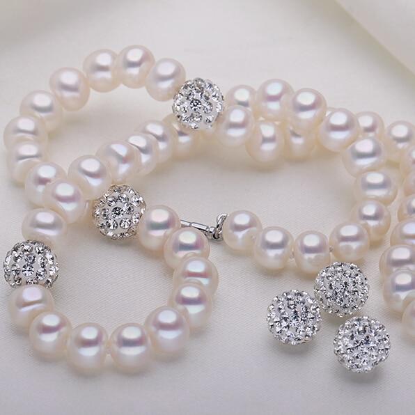 ZHBORUINI 2019 Pearl ყელსაბამი 925 - ლამაზი სამკაულები - ფოტო 4