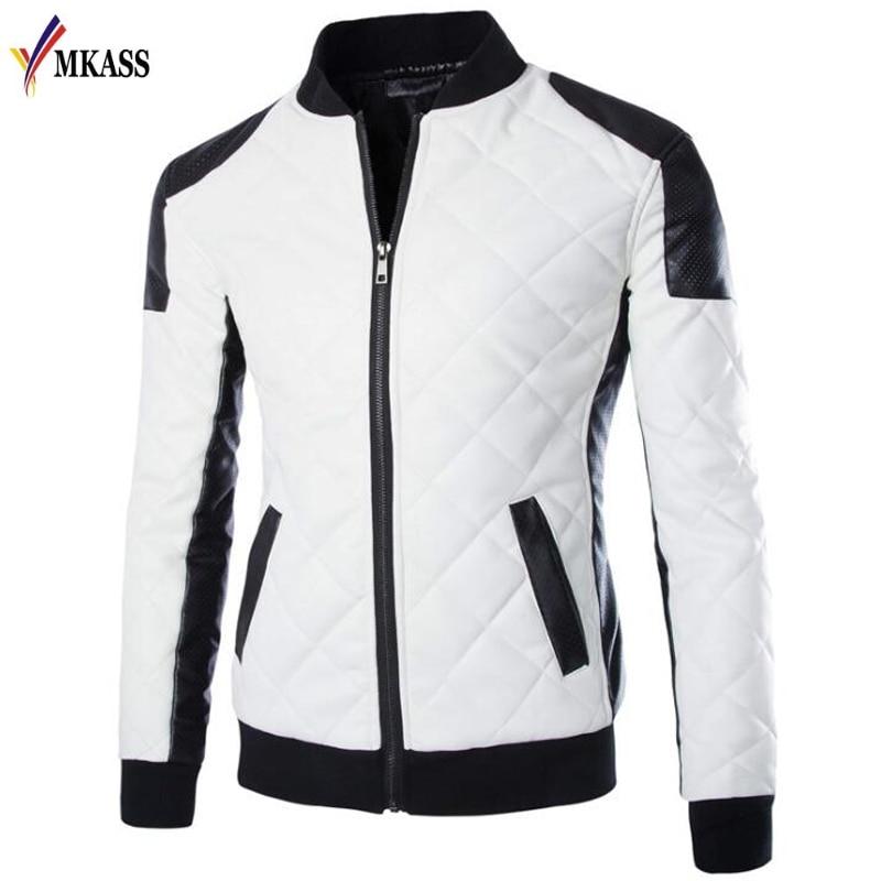 Men Lether Jackets Man Made Leather Jaquetas Masculinas Inverno Couro Jacket Men Jaquetas De Couro Men's Winter Leather Jacket