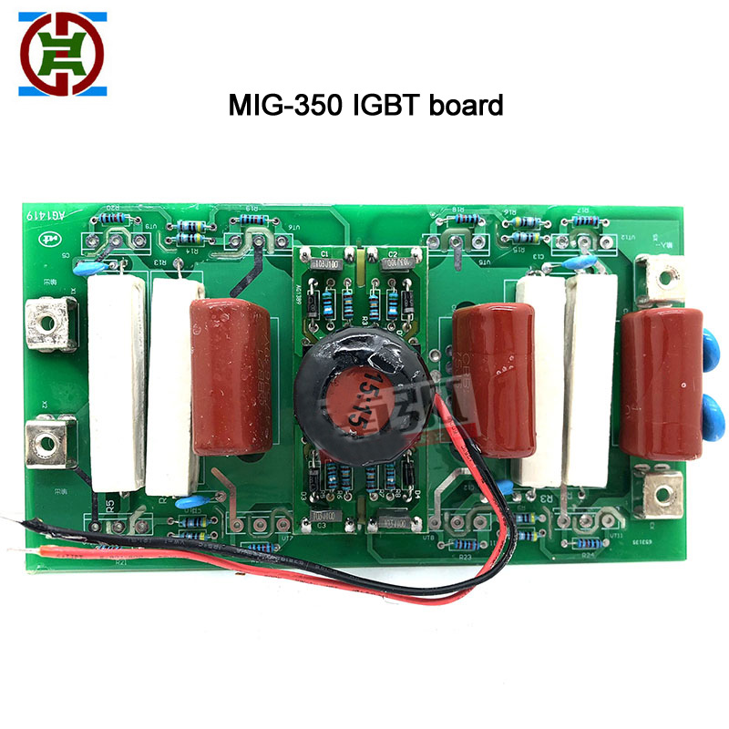 NBC350 Inverter Board IGBT Schweißer Stick Bord MIG350 Inverter Board IGBT Schweißer Gas Erhaltung Schweißer (ohne IGBT rohr)