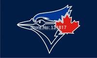 Toronto blue jays cờ 3x5ft cờ biểu ngữ MLB cờ cờ tùy chỉnh