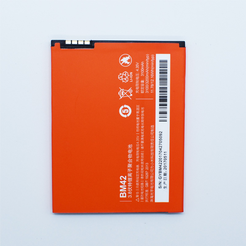 Hekiy New Battery BM42 For Xiaomi Redmi Note 4G Prime 3200mAh Mobile Phone Batterie High Quality Accumulator In stock