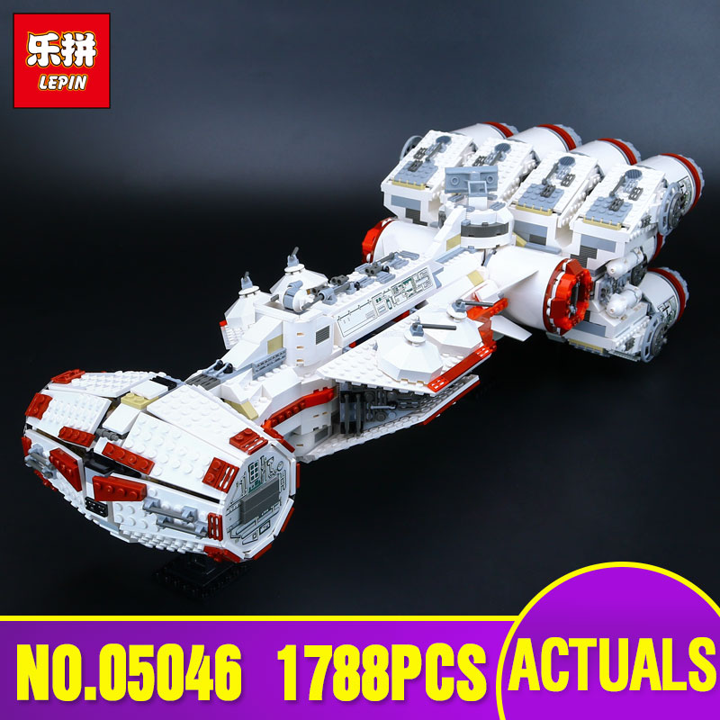 Lepin 05046  Star 1788Pcs New War Series The Tantive IV Blockade Runner Set Educational Building Blcoks Bricks Toys 10019 rollercoasters the war of the worlds