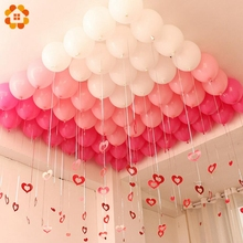 30PCS 10inch 3 Colors Balloons Team Bride Latex Inflatable Balloon for Home Wedding Party Decoration Bachelorette Party Supplies(China)