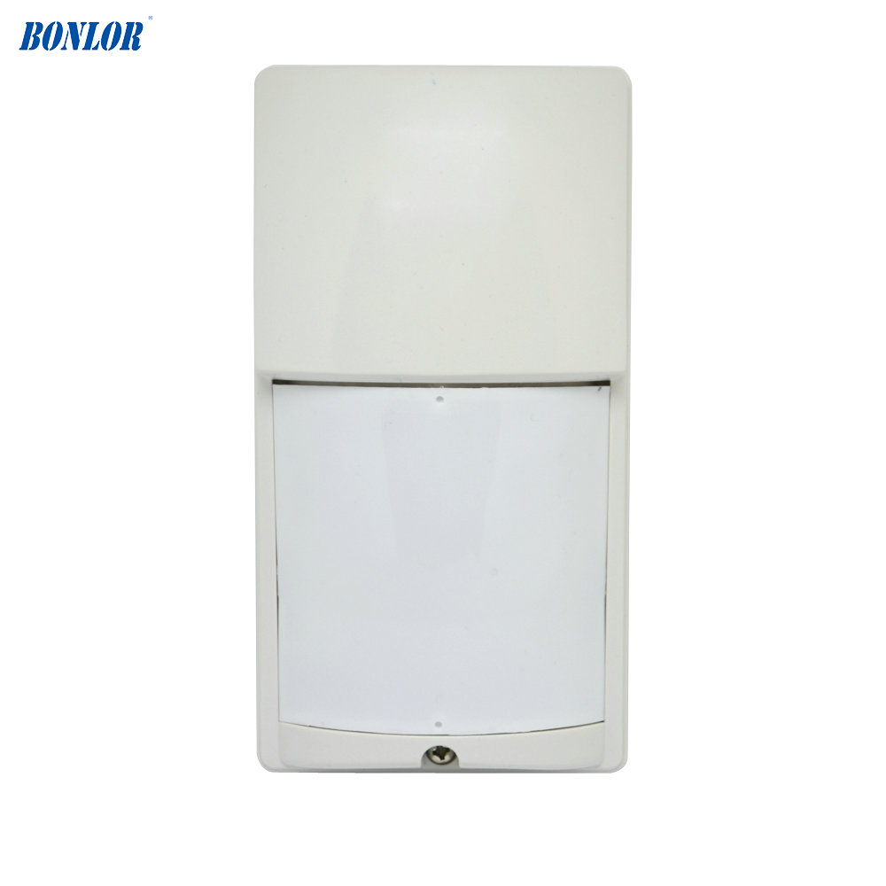 LX-402 NC NO Signal Output Option Security Alarm Sensor IP54 Waterproof Outdoor Infrared Detector Wall-mounted Pet Immunity