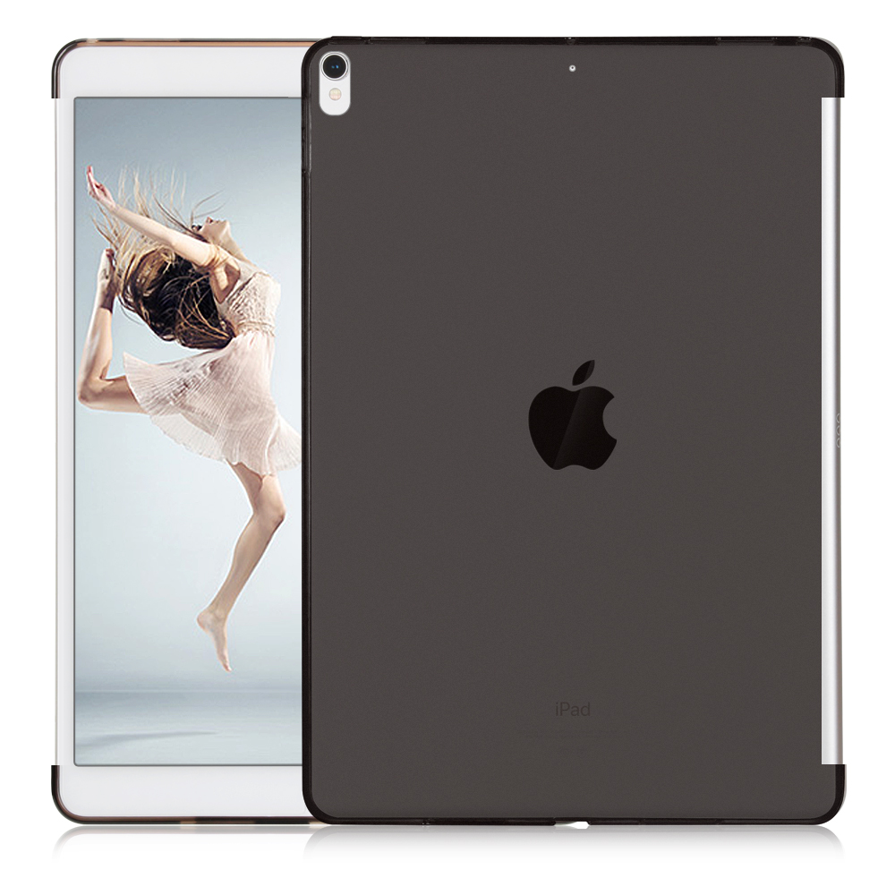 все цены на GOLP Tablet Case For iPad Pro 10.5 Ultra Slim Soft TPU Matte Crystal Transparent Silicone Gel Protect Back Case Cover For iPad онлайн