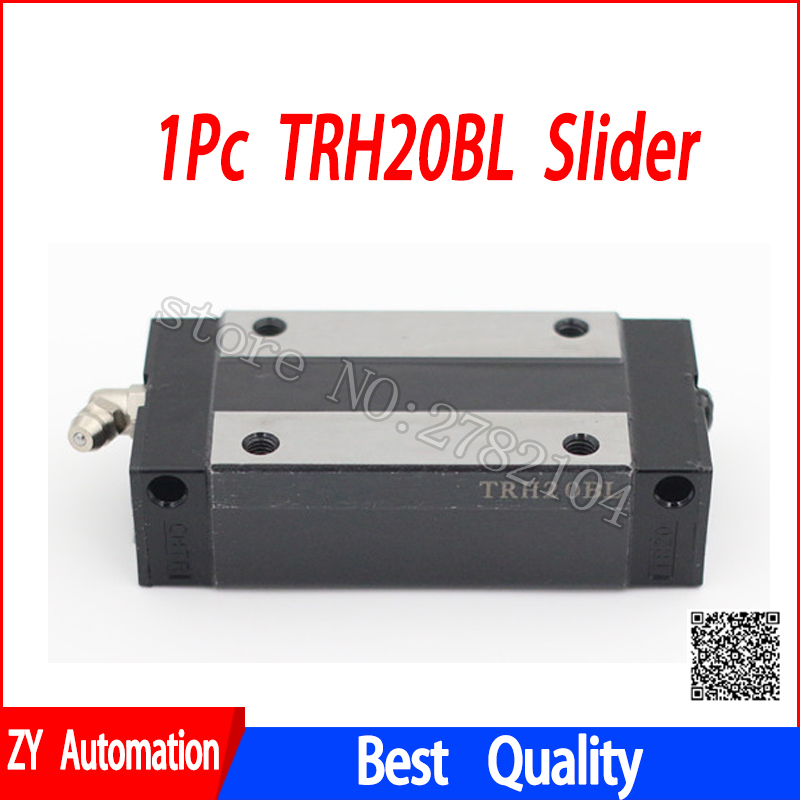 1pc TRH20BL slider block match use TRH20 linear guide for linear rail CNC diy parts hgh20ca slider block hgh20 ca match use hgr20 linear guide for linear rail cnc diy parts
