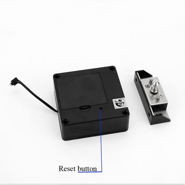 New upgraded Electronic Keyless RFID Hidden Cabinet Lock Private Card Locker Lock Digital Invisible Cabinet Door Lock