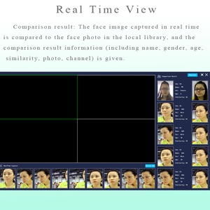 Image 3 - Yüz tanıma NVR 8 CH P2P IP Video kaydedici destekler H.265 264 Onvif 1HDMI + 1VGA akıllı Video analizi IP kamera CCTV NVR