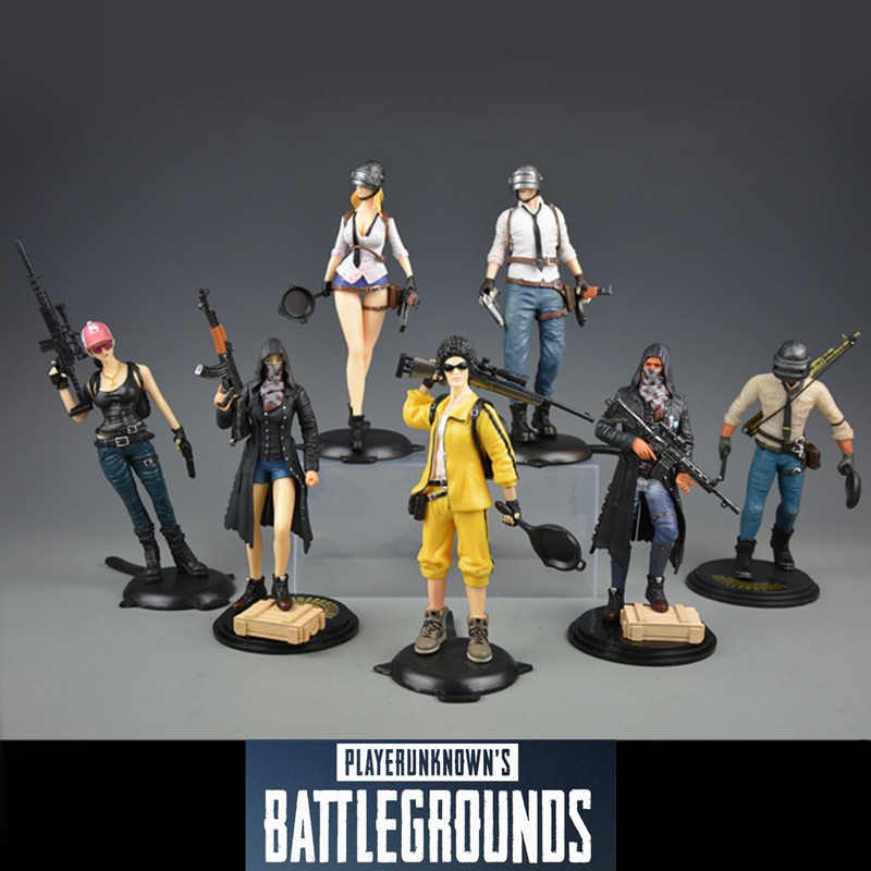 Playerunknowns Battlegrounds PUBG New high quality to eat tonight chicken Metal Fashion Car Weapon model Free shipping