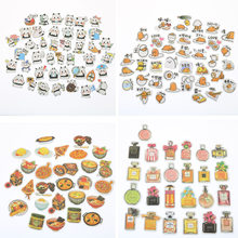 Line Expression Cartoon Animal Food Stickers Set Decorative Stationery Craft Stickers Scrapbooking DIY Stick Label(China)