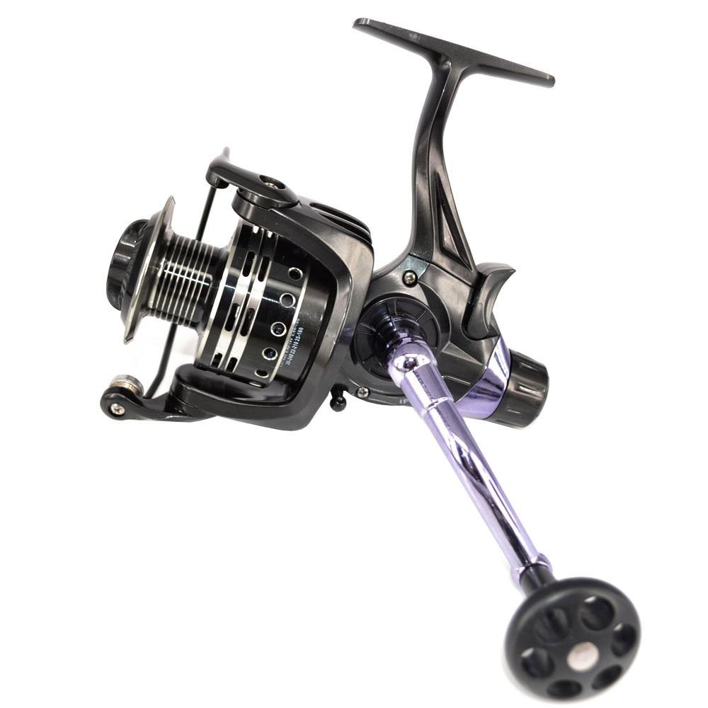 Spinning Reel 11+1 BB Carp Fishing Reel Bait Runner Reel IFR5000 6000 Aluminium Spool
