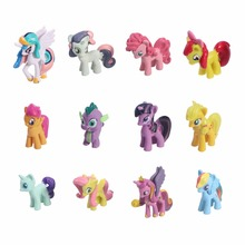 My Cute Lovely Little Horse Stuffed Plush Toy Poni Unicorn Rainbow Figurines Decoration For Life Ornaments Toys For Children