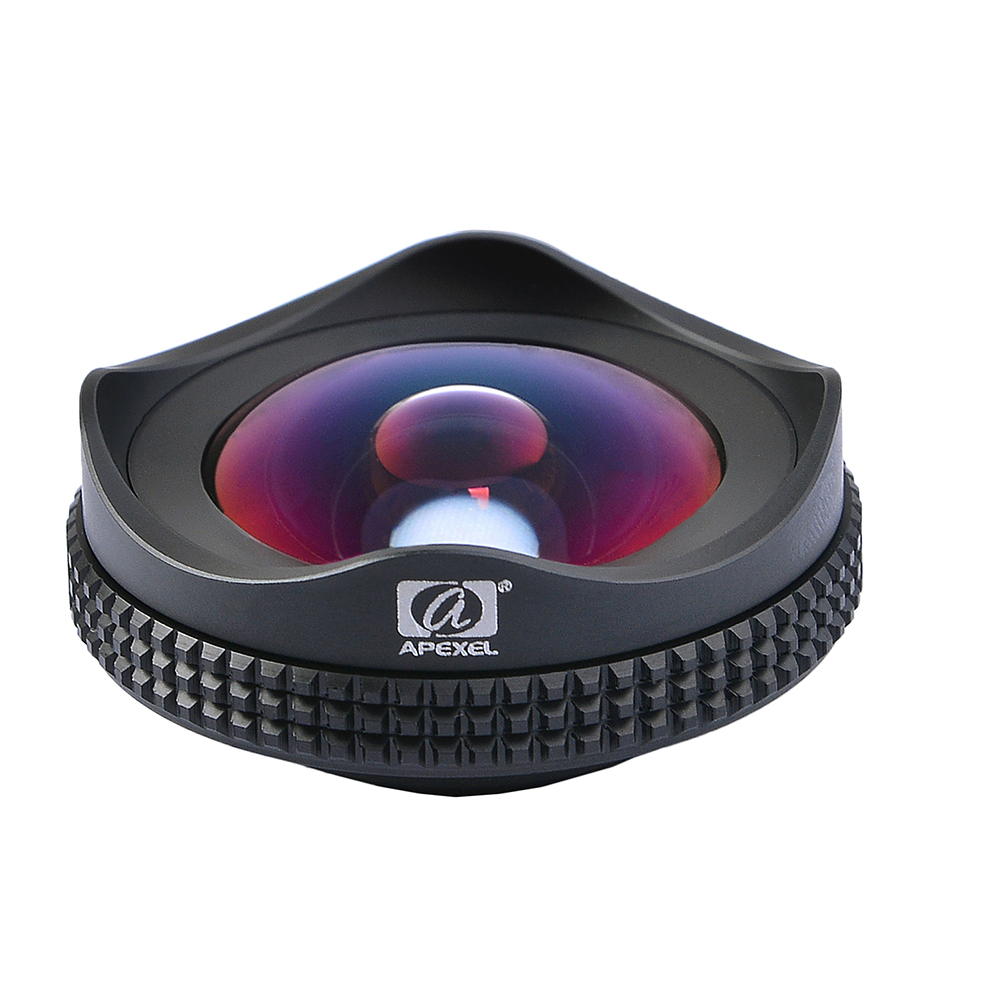 Image 3 - APEXEL Pro Camera Lens Kit 16mm 4k Wide Angle Lens with CPL Filter Universal HD Mobile Phone Lens for iPhone 7 6S Plus Xiaomi-in Mobile Phone Lens from Cellphones & Telecommunications