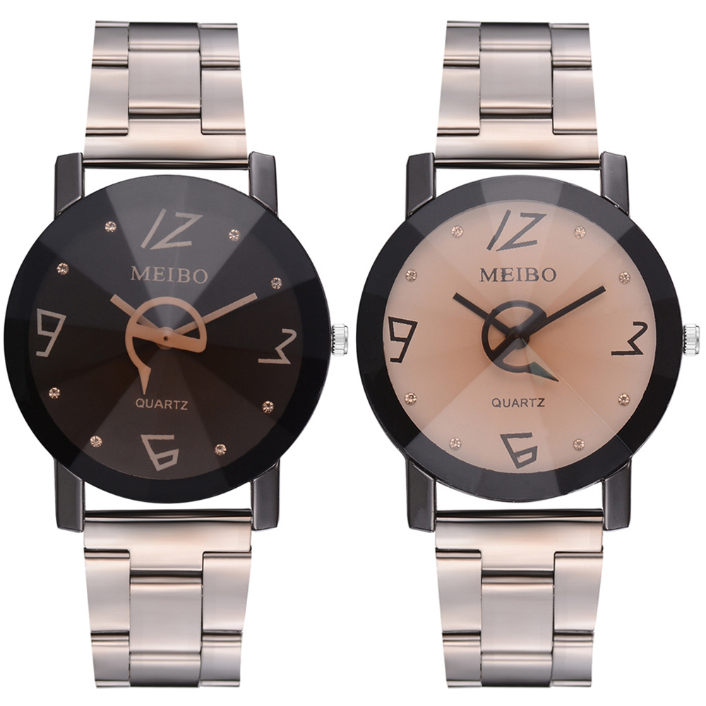 fashion mens women alloy metal Personality new 2019 trend creative watch 2019 wholesale man business quartz