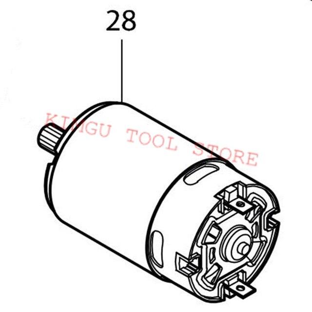 Genuine Dc Motor For Makita 629846 1 Btl061 Dtd061 Dtd063 Dtl061