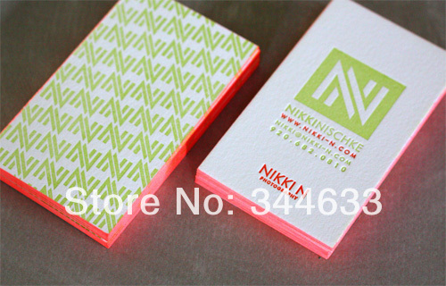 600gsm cotton paper custom red color edge business cards colored 600gsm cotton paper custom red color edge business cards colored letterpressdebossed printing service vertical style best price colourmoves