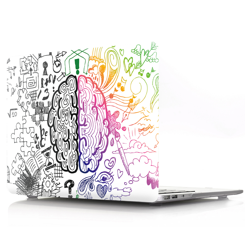 Brain Painting Case for MacBook 156