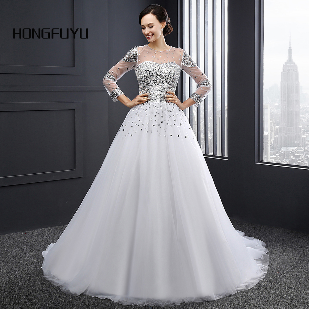 Ivory Lace Mermaid Wedding Dresses Elegant Pearls Sexy Backless 3/4 ...