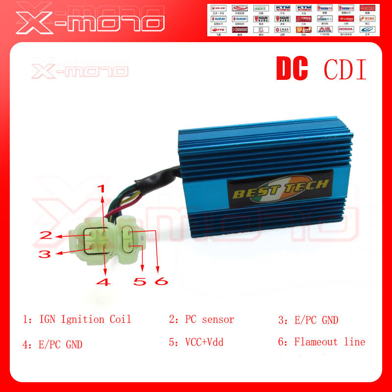 Dc Fired High Performance Alloy Racing Cdi Box For Gy Cc Cc Qmb Qmi Qmj Scooter on 150cc Gy6 Racing Parts