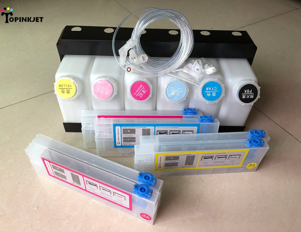 US $94 5 10% OFF|XC 540 CISS for Roland XC540 Bulk System 6 tank 6  cartridge-in Continuous Ink Supply System from Computer & Office on  Aliexpress com