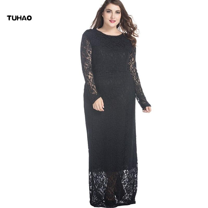 Party dresses plus size 7XL 6XL 5XL Women's lace Sexy Bodycon BLACK white Long Maxi Party Dress Long Maxi Dresses CM16