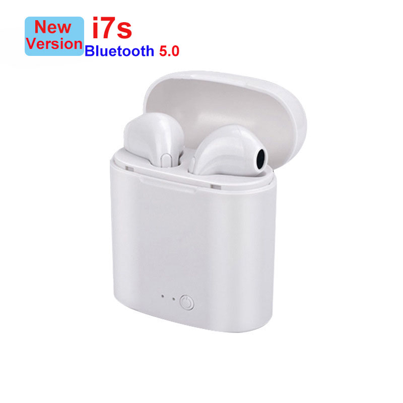 i7s TWS Wireless Earpiece Bluetooth Earphones Earbuds With Mic For iPhone Xiaomi Samsung Huawei LG(China)