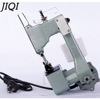JIQI Electric Sewing Machine Sealing Machines Handheld Industrial Cloth Bag Closer Aluminum Alloy Manual Stitching Maker