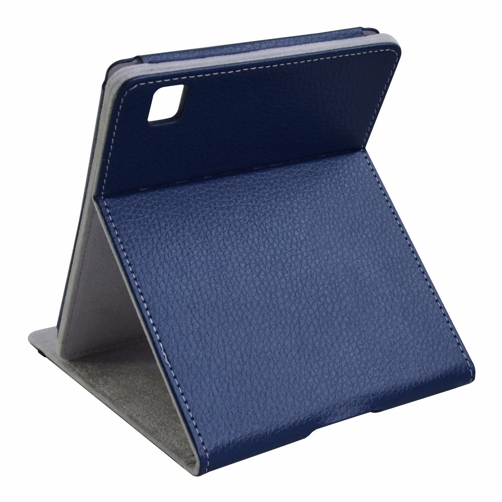 Folding Stand PU Leather Ebook Case For 6 8