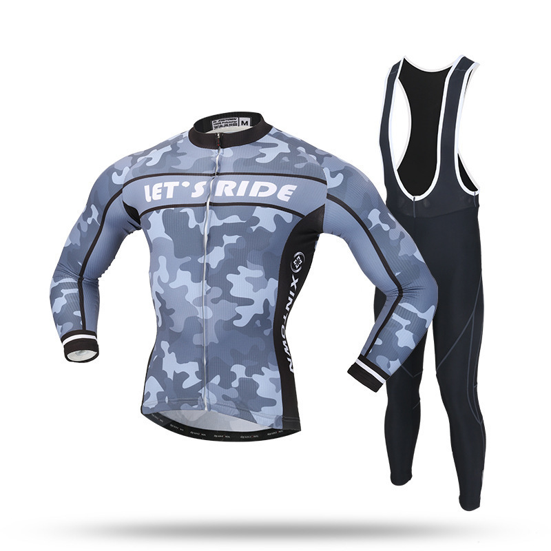 BOODUN Outdoor Sports Cycling Jersey Sets Spring Summer Bicycle Long Sleeves MTB Clothing basecamp cycling jersey long sleeves sets spring bike wear breathable bicycle clothing riding outdoor sports sponge 3d padded