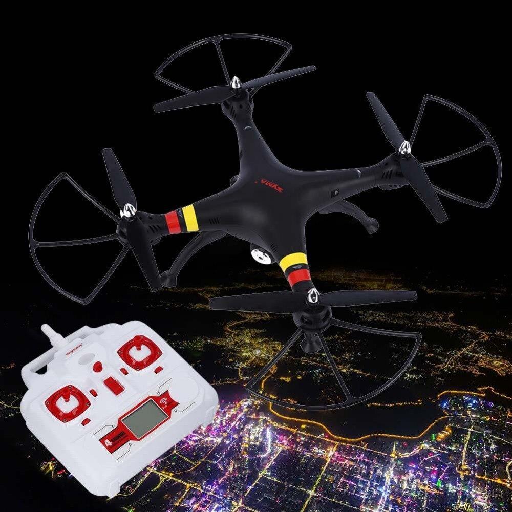 2.4G 6-Axle Gyro RC Quadcopters Drone RTF 2MP Wifi Camera FPV Syma X8W Black syma black hawk uh 60 gyro 3ch ик управление s102g