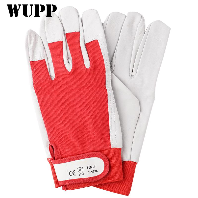 Wig Soldering Gloves Gr.11 with Cuff Goat Leather